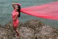 Actress Bindu Madhavi in Sattam Oru Iruttarai Movie Stills