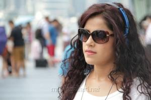 Actress Piaa Bajpai in Sattam Oru Iruttarai Movie Gallery