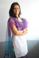 Actress Satya Krishnan in White Churidar Cute Photos