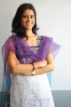 Sathya Krishnan Cute Photos in White Churidar