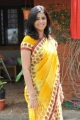 Satya Krishnan in Yellow Saree Pics