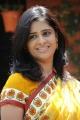 Telugu Actress Satya Krishnan in Saree Stills