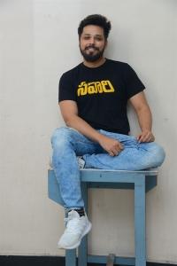 Nandu @ Savaari Movie Trailer Release Photos