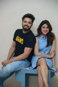 Nandu, Priyanka Sharma @ Savaari Movie Trailer Release Photos