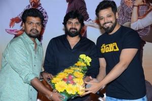 Saahith Mothkuri, Sree Vishnu, Nandu @ Savaari Movie Trailer Release Photos