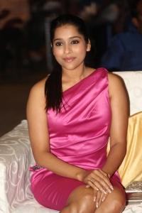 Actress Rashmi Gautam @ Savithri Movie Audio Launch Stills