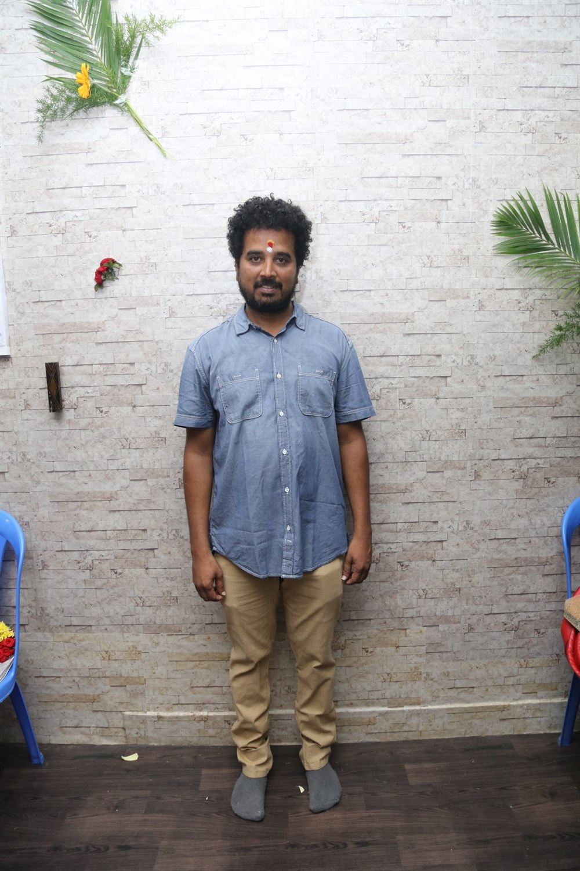 Cinematographer Masani @ Seemathanni Movie Pooja Stills