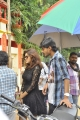 Oviya, Sanjeevi @ Seeni Movie Shooting Spot Stills