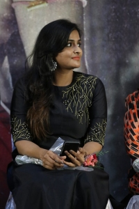 Actress Ramya Nambeesan @ Seethakathi Press Meet Stills