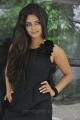Telugu Heroine Seethal Sidge in Black Dress Photoshoot stills