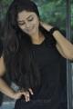 New Telugu Actress Seethal Sidge in Black Dress Photoshoot stills