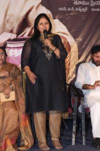 Actress Jayasudha @ Seethavalokanam Poster Launch Stills