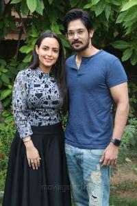 Aanchal Munjal, Nakul @ Sei Movie Press Meet Photos
