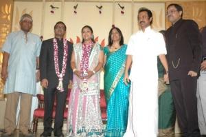 MK Stalin @ Selvaraghavan Geethanjali Reception
