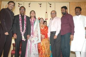 K Balachander @ Selvaraghavan Geethanjali Reception