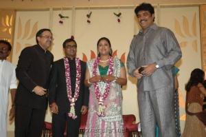 Sudar C @ Selvaraghavan Geethanjali Reception