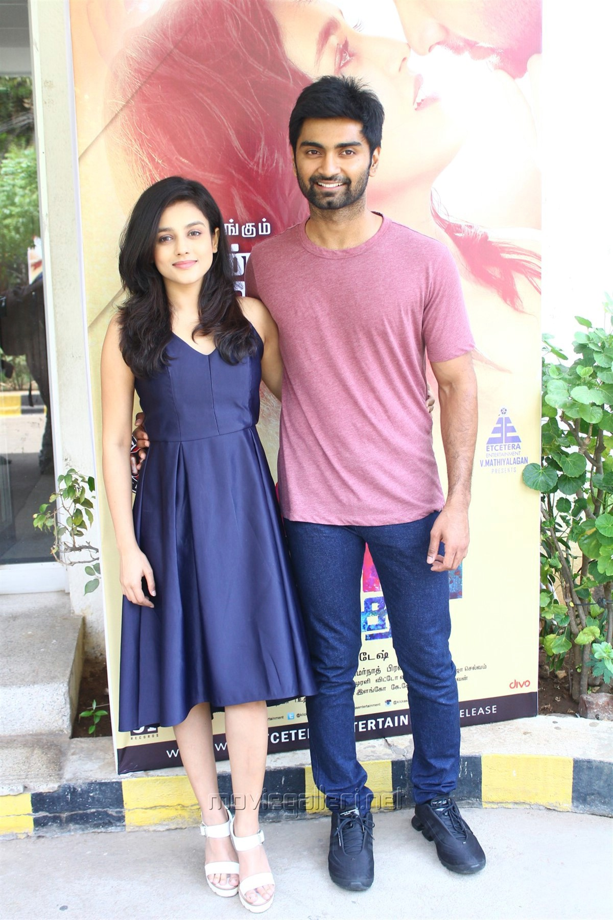 Mishti Chakraborty, Atharva @ Semma Botha Aagathey Press Meet Stills