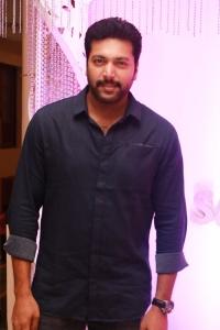 Actor Jayam Ravi @ Sethu & Uma Wedding Reception Photos