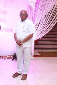 SP Muthuraman @ Actor Sethu & Uma Wedding Reception Photos