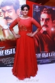 Remya Nambeesan in Red Dress Images @ Sethupathi Audio Release