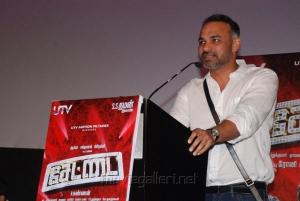 Abhinay Deo at Settai Audio Launch Stills