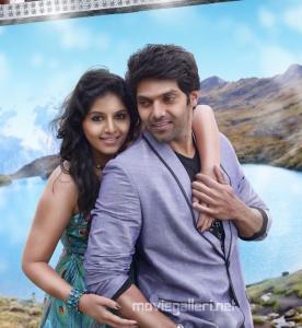 Anjali, Arya in Settai Movie Audio Launch Invitation Posters