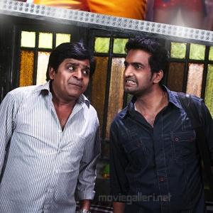 Ali, Santhanam in Settai Movie Audio Launch Invitation Posters