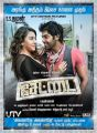 Actress Hansika, Arya in Settai Movie Audio Release Posters