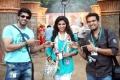 Arya_Anjali, Santhanam in Settai Movie Stills