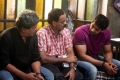 Nassar, UTV Dhananjayan, Arya in Settai Movie StillsSettai Movie Stills