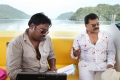 Meher Ramesh, Venkatesh at Shadow Movie On Location Stills
