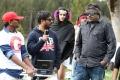 Raju Sundaram, Tapsee, Meher Ramesh at Shadow Movie Working Stills