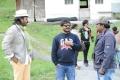 Venkatesh, Raju Sundaram, Meher Ramesh at Shadow Movie Working Stills