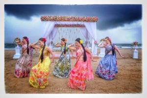 Shailaja Reddy Alludu Movie Goa Song Shoot Images