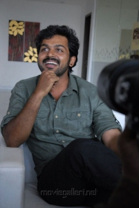 Karthi at Shakuni Movie Success Meet Stills