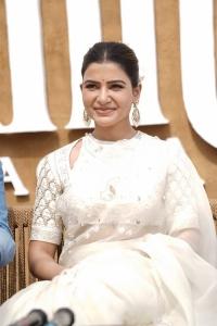 Actress Samantha @ Shakuntalam Movie Launch Stills