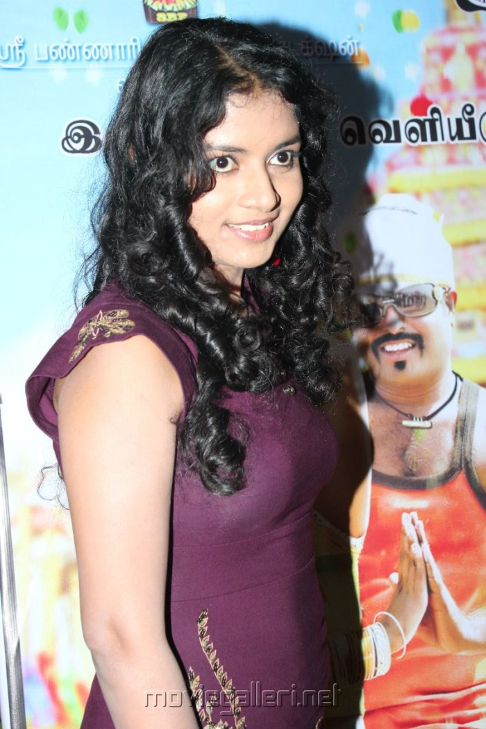 Tamil Actress Shalini Hot Photos in Dark Violet Tight Skirt
