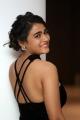 Actress Shalini Pandey Hot Black Dress Photos @ 118 Success Meet