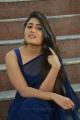 Jwala Movie Heroine Shalini Pandey Blue Saree Photos