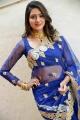 Actress Shalu Chourasiya Hot Blue Saree Photos