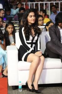 Actress Ananya @ Shamanthakamani Movie Pre Release Function Stills