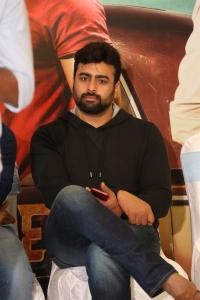 Actor Nara Rohit @ Shamanthakamani Movie Success Meet Photos