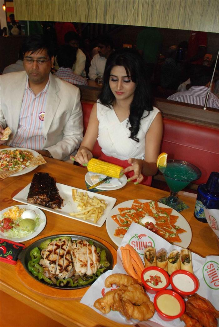 Actress Shamili @ Chili's American Grill and Bar Launch Banjara Hills