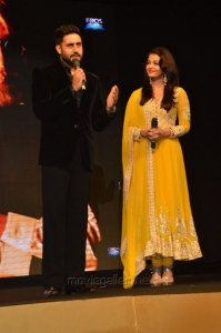 Abhishek, Aishwarya Rai Bachchan @ Shamitabh Audio Release Stills