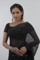 Shammu Hot in Black Saree Stills