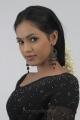 Tamil Actress Shammu Hot Black Saree Photo Shoot Stills