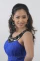 Actress Shammu in Blue Dress Stills