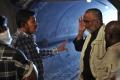 Director Shankar, PC Sreeram at  I Movie On Location Photos
