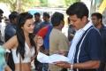 Actress Amy Jackson @ Shankar I Movie Shooting Spot Stills