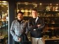 Shankar, Richard Taylor @ I Movie Shooting Spot Stills